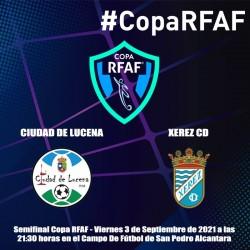 Entrada Semifinal Copa RFAF...